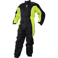Richa Typhoon Rain Overall - Black and Yellow