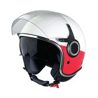 VJ Vespa Helmet - Red and White