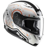 HJC CS-15 Safa Orange Helmet