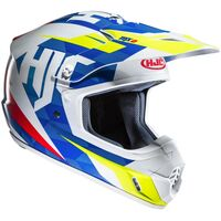 HJC CS-MX 2 II Dakota Blue / White /  Fluo MX Helmet