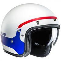 HJC FG-70S Modik - Red Blue and White Open Face Helmet