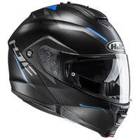 HJC IS MAX 2 Dova Black Blue Flip Front Helmet