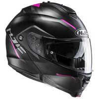 HJC IS MAX 2 Dova Black / Pink Flip Front Helmet
