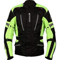 Buffalo Cyclone Jacket - Black / Neon
