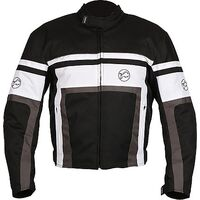 Buffalo Retro Jacket - Black / White
