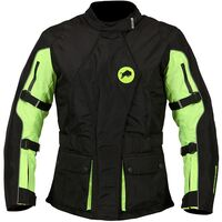 Buffalo Siena Ladies Jacket Black / Neon Yellow