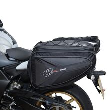 Soft luggage for motorcycles