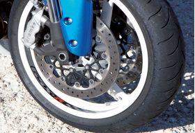 Suzuki GSXR 600 750 1000 Wheel Rim Decal