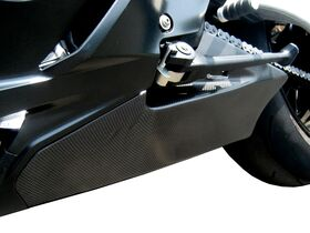 BMW S1000RR TaylorMade left carbon trim