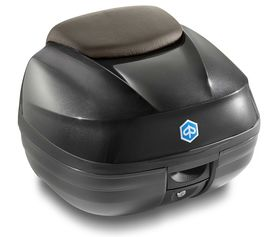 Piaggio MP3 ABS Medium Top Box Kit Matt Black