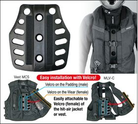 Hit-Air chest armour plate