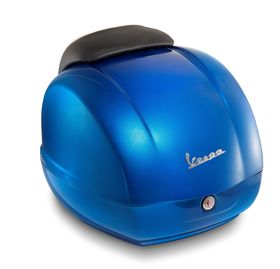 Vespa GTS Super Top Box Blue