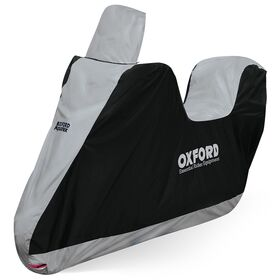 Oxford Aquatex Essential Motorcycle Cover - With High Screen and TopBox