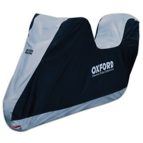 Oxford Aquatex Essential Motorcycle Cover - With TopBox