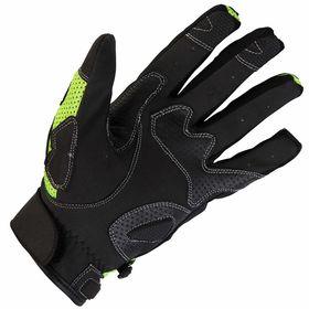 Spada MX Air Gloves Hi Viz Underneath View