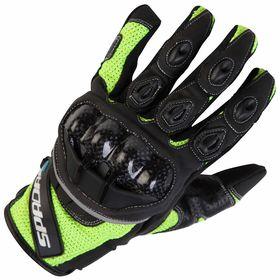Spada MX-Air Gloves Hi Viz Front View