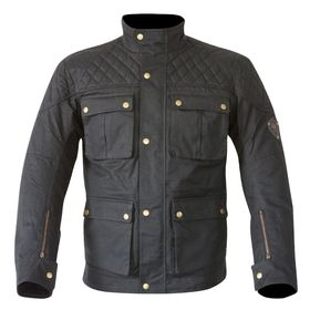 Merlin Armitage Wax Jacket Black