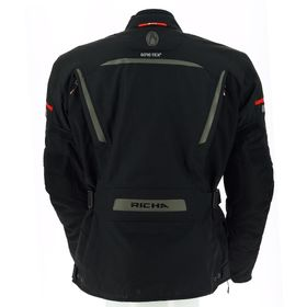 Richa Cyclone Jacket - Black - Rear
