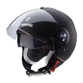 Caberg Riviera V3 Open Face Helmet Matt Black