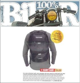 Oxford Handy Sack Review - 100% Biker
