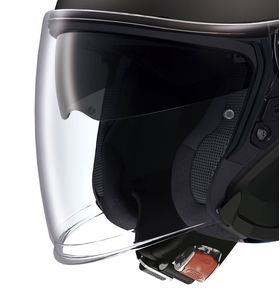Shoei J Cruise black open face helmet