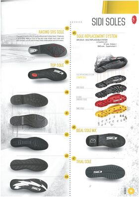 Sidi Crossfire 2 SRS boots sole replacement system