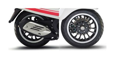 Vespa Sprint Black Wheel Rim