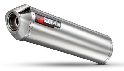 Scorpion Factory Exhaust Triumph Tiger 800 1050