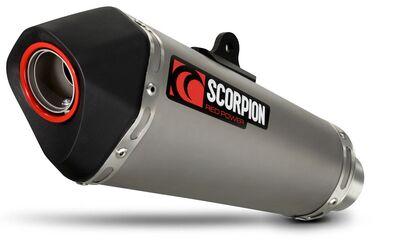 Scorpion Serket Exhaust Satin Titanium