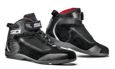 Sidi Gas Short Motorycle Boots - Black