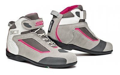 Sidi Gas Ladies Boots Grey Pink
