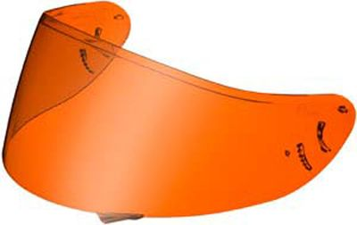 Shoei CX1-V high definition amber visor Multitec X-Spirit XR1000