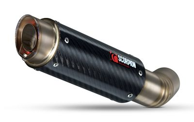 Scorpion RP-1 GP Exhaust Can Carbon