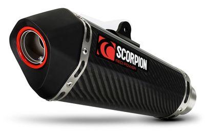 Scorpion Serket Exhaust Carbon