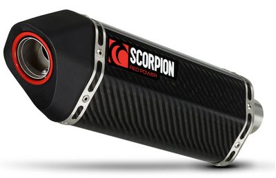 Scorpion Serket Taper Exhaust Can Carbon