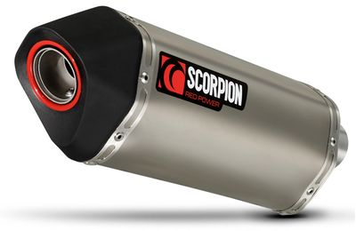 Scorpion Serket Titanium Exhaust Honda CRF1000 Africa Twin