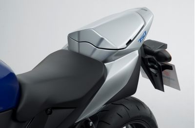 Suzuki GSR750 Rear Seat Tail Cover Silver