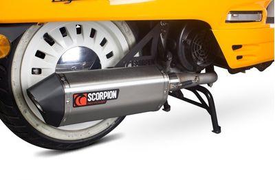 Scorpion Serket Full System Peugeot Django 125