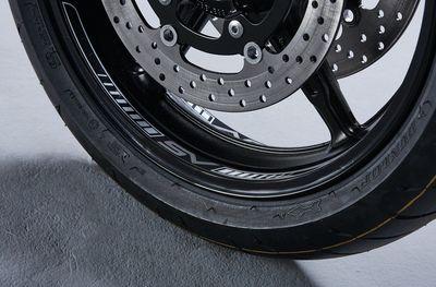 Suzuki SV650 Wheel Rim Decal