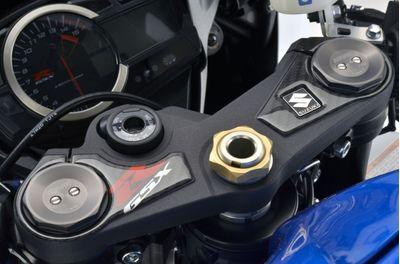 Suzuki GSXR 1000 top yoke protector carbon