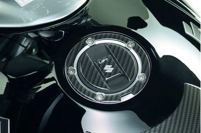 Suzuki Inazuma Fuel Cap Trim