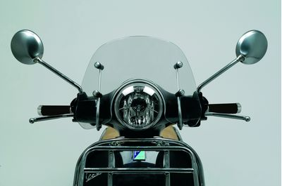 Vespa LX Clear Flyscreen