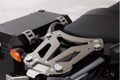 Suzuki V-Strom 650 ABS Top Case Carrier - Metallic Silver