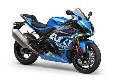 Suzuki GSX-R1000R L8 2018 MotoGP Blue Nottingham Mansfield