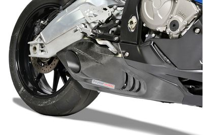 BMW S1000RR TaylorMade right carbon trim