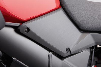 Suzuki V-Strom 1000 Tank Foil Protection Black