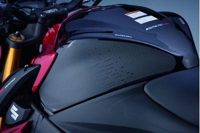 Suzuki GSX-S1000 Tank Side Protection Pad Set Black