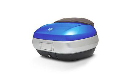 Piaggio MP3 Sport ABS Large Top Box Kit (50L) Blue Gaiola