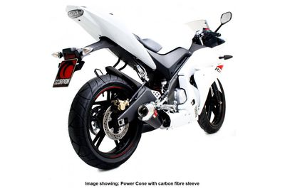 Yamaha yzf r125 power cone exhaust system