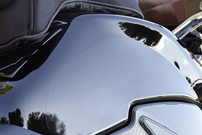 Suzuki GSR750 Tank Side Protection Set Clear
